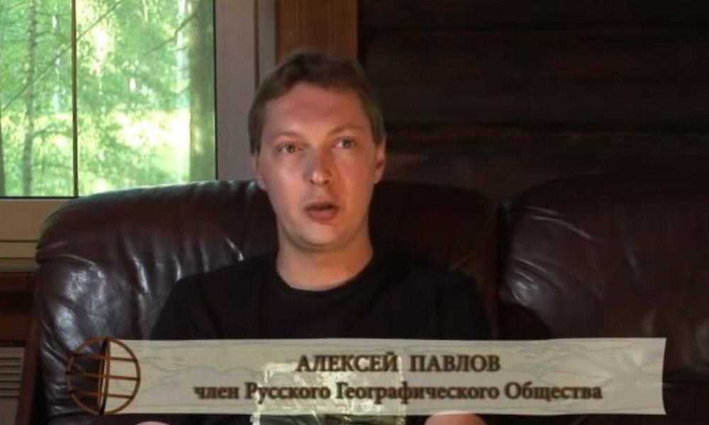Алексей Павлов - член Русского Географического Общества