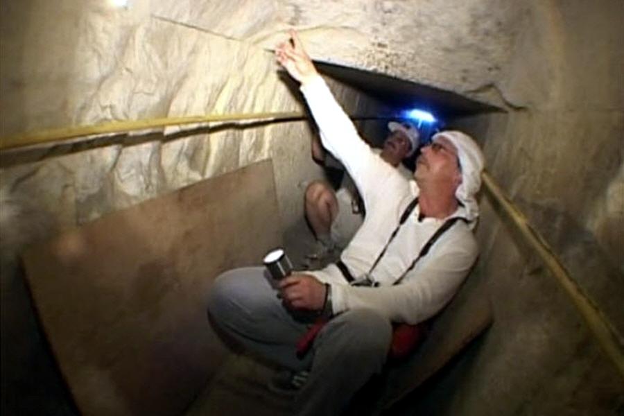 Великая пирамида Гизы является техническим устройством