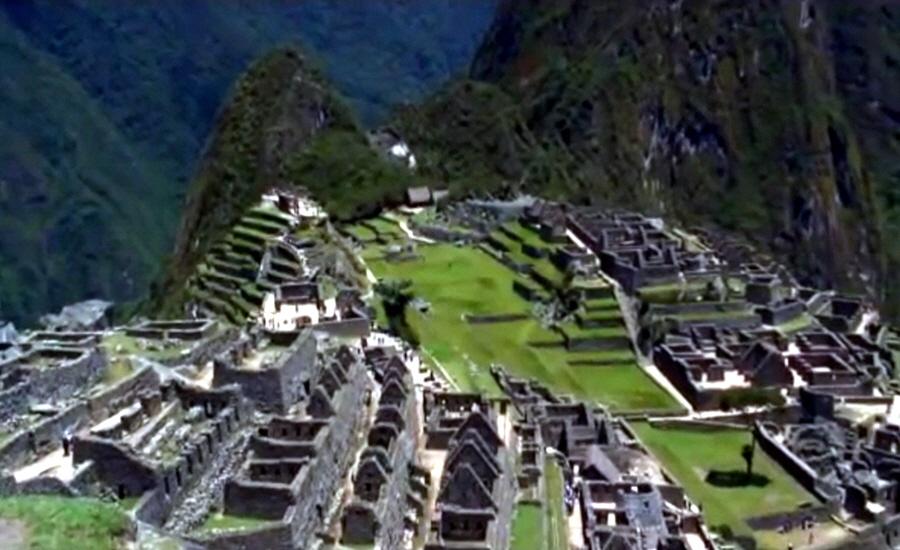 Место посадки летательных аппаратов на вершине Мачо-Пикчу