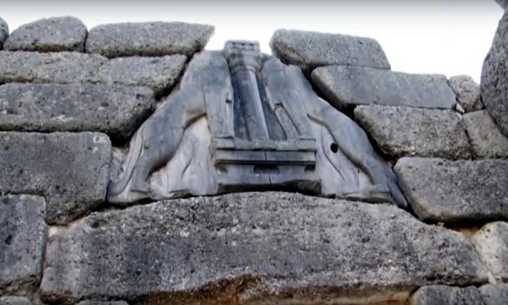 Необъяснимый феномен входных ворот акрополя Микен со львами