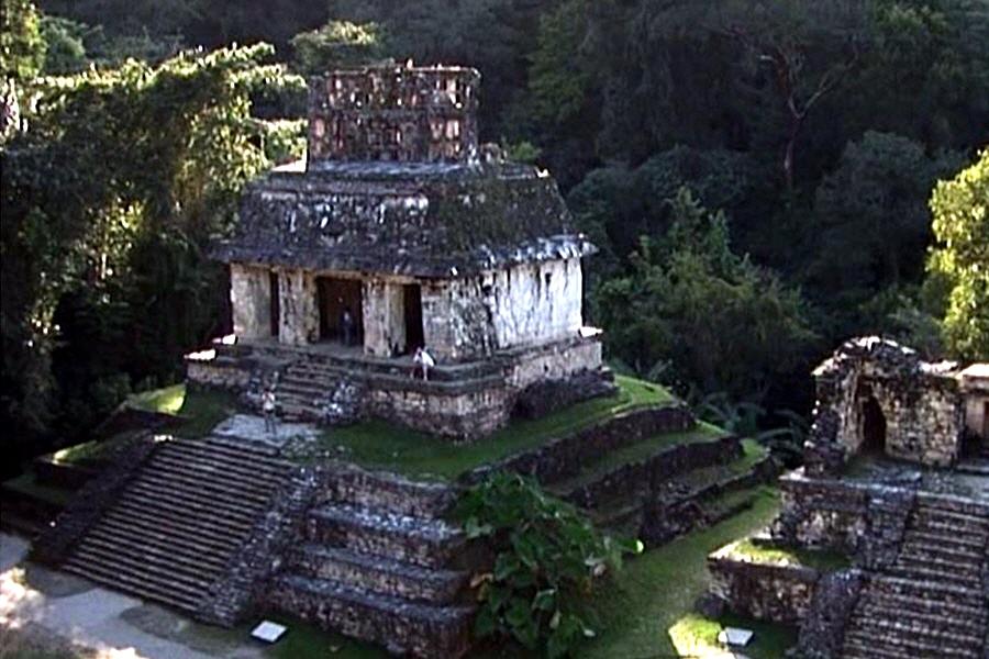 Тайны развалин большого майянского города Паленке