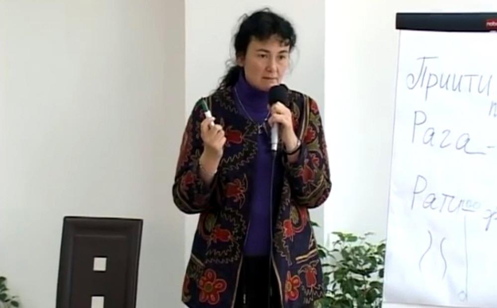 Семинар Марины Таргаковой в Краснодаре в апреле 2010 года