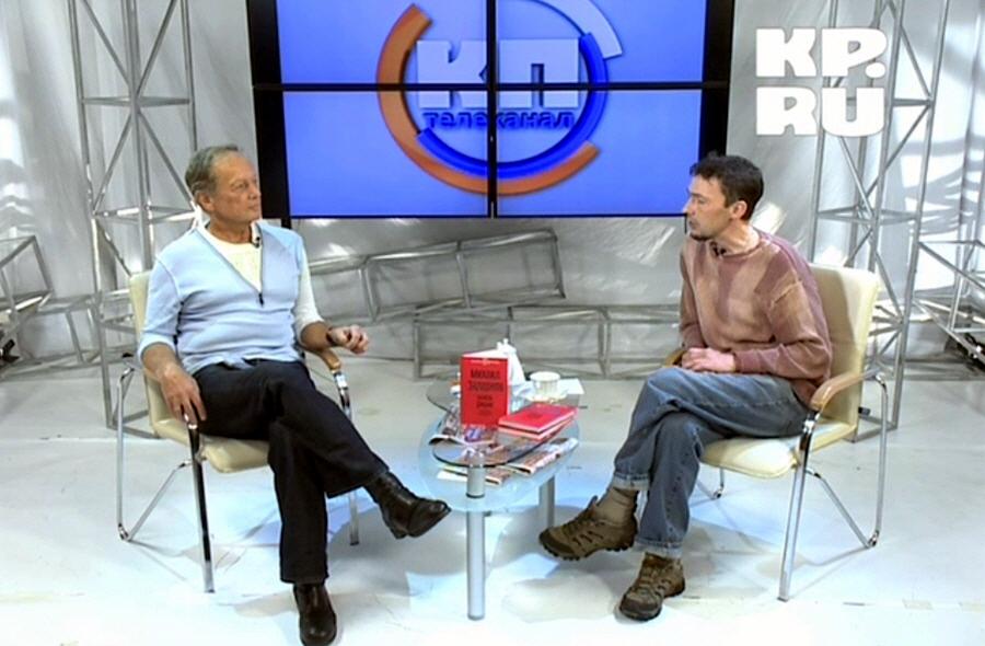 Михаил Задорнов в программе Персона на телеканале КП 21 сентября 2012 года