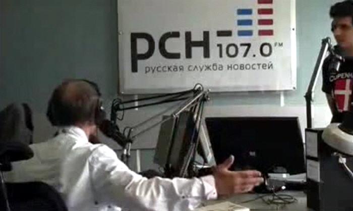 Михаил Задорнов в программе Русский дух на радио Русская Служба Новостей