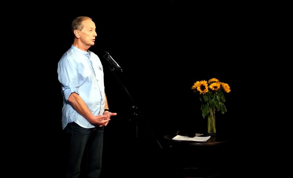 Михаил Задорнов в театре на Таганке 15 февраля 2015 года