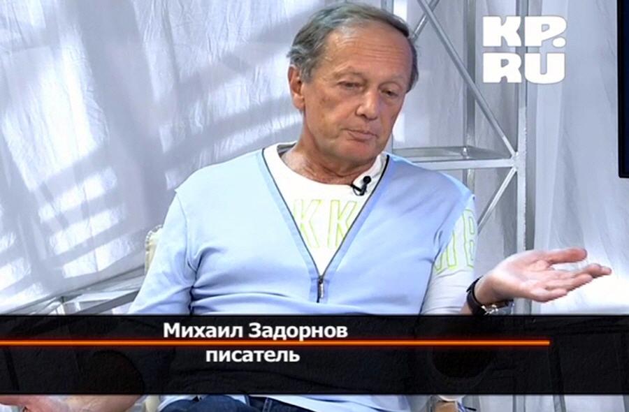 Почему Михаила Задорнова заинтересовала тема Древней Руси