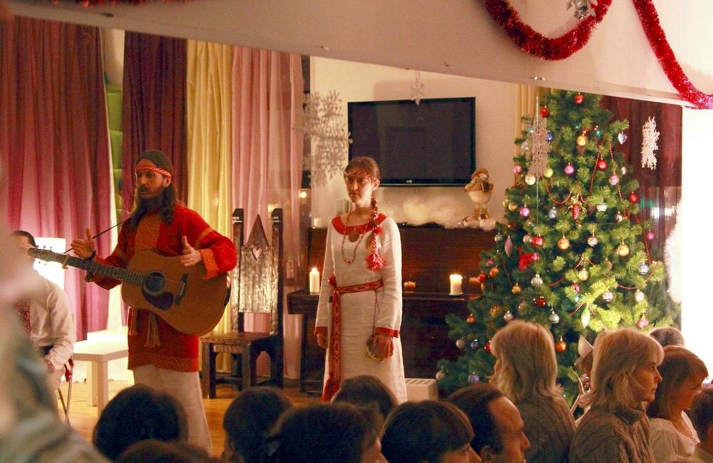 Группа АураМира в творческом центре АТОН 29 декабря 2013 года