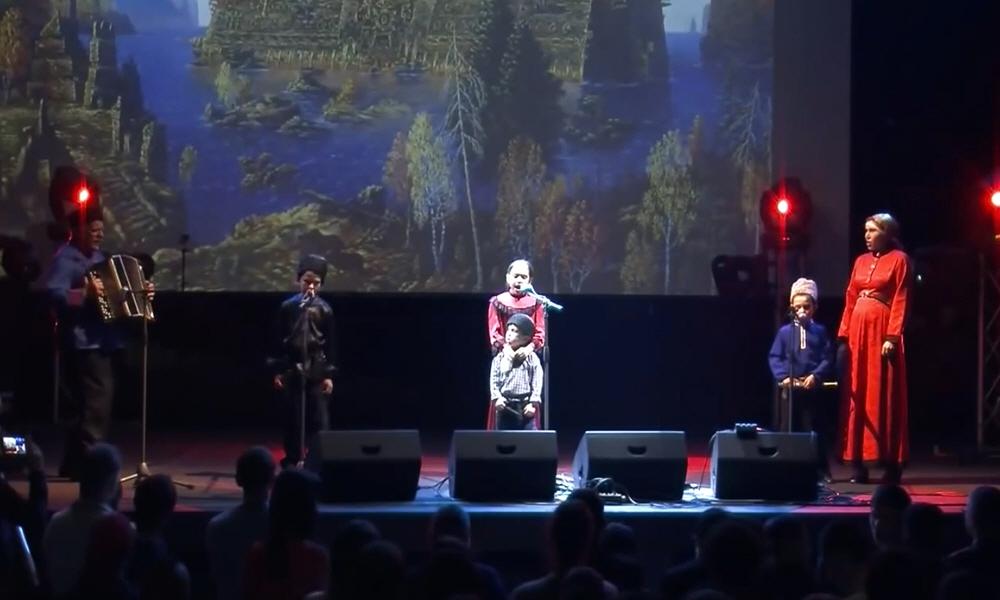 Дети на концерте Николая Емелина
