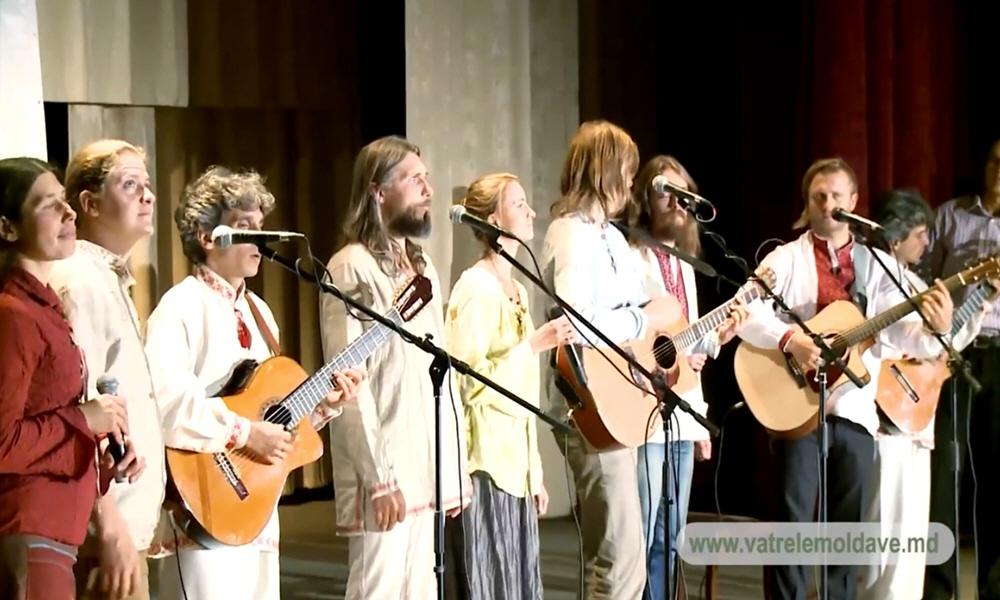 Концерт Каравана Солнечных Бардов в Кишинёве 14 сентября 2013 года