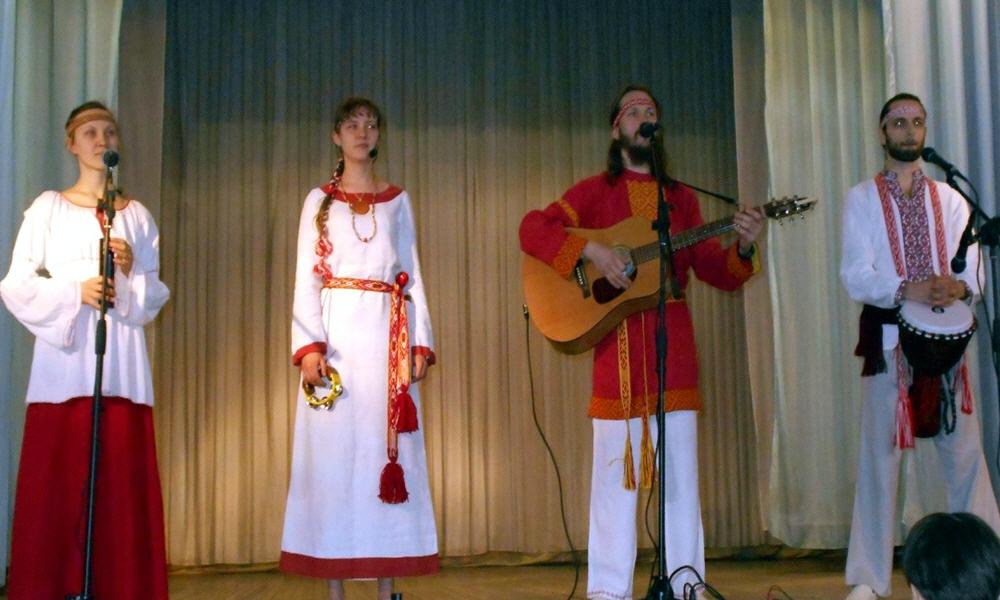 Концерт музыкального коллектива АураМира в Иркутске 1 марта 2014 года