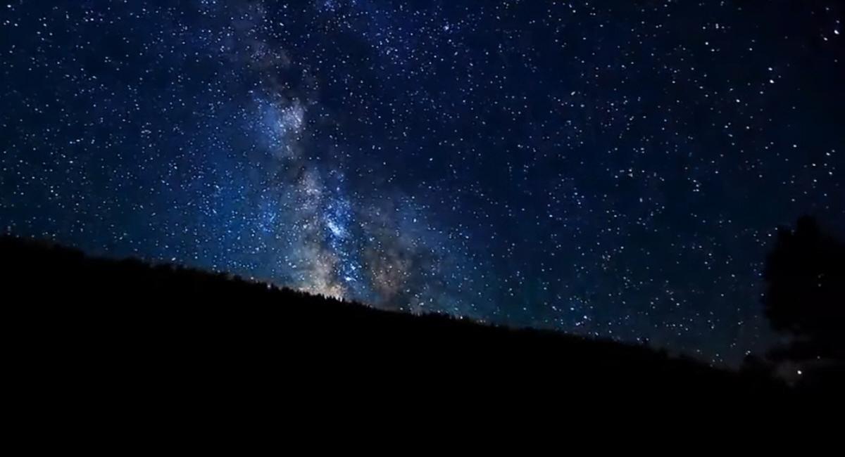 Красивые звёзды ночного неба