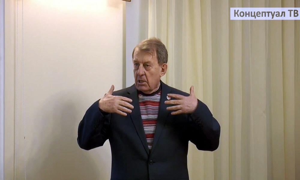 Член Высшего совета Движения Русский Лад руководитель Военно-патриотического центра Русский Лад генерал-лейтенант Тарасов Борис Васильевич