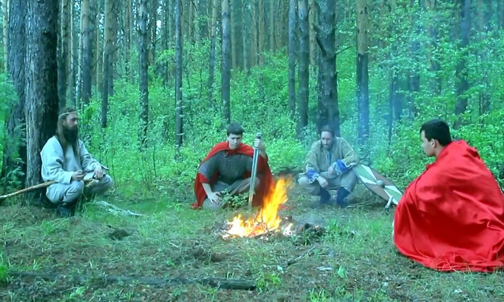 Русские воины богатыри