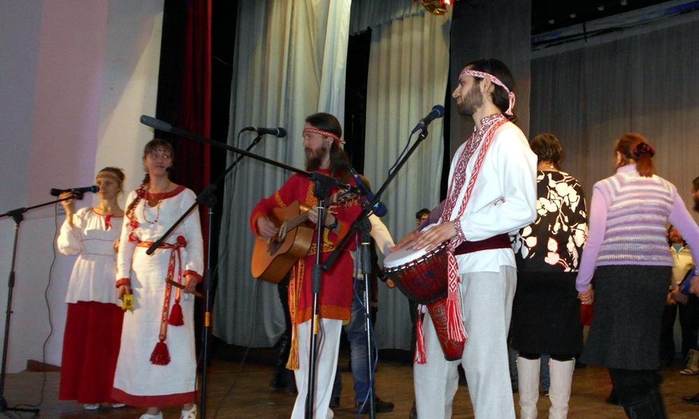 Славянский музыкальный коллектив занимающийся возрождением русской-славянской ведической культуры