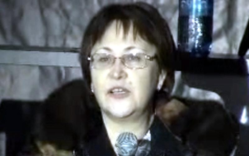 Надежда Токарева в Новосибирске 27 января 2012 года