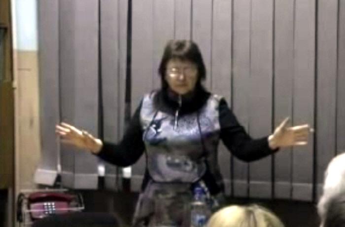Семинар Надежды Токаревой по освобождению от негативных печатей тёмной нави 14 февраля 2012 года