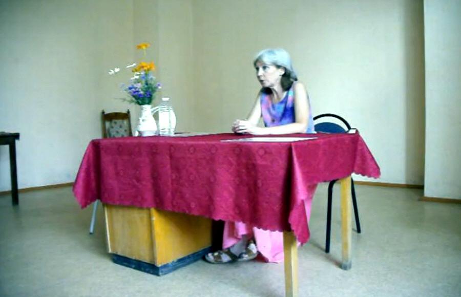 Наталья Неволина в Пензе в 2010 году