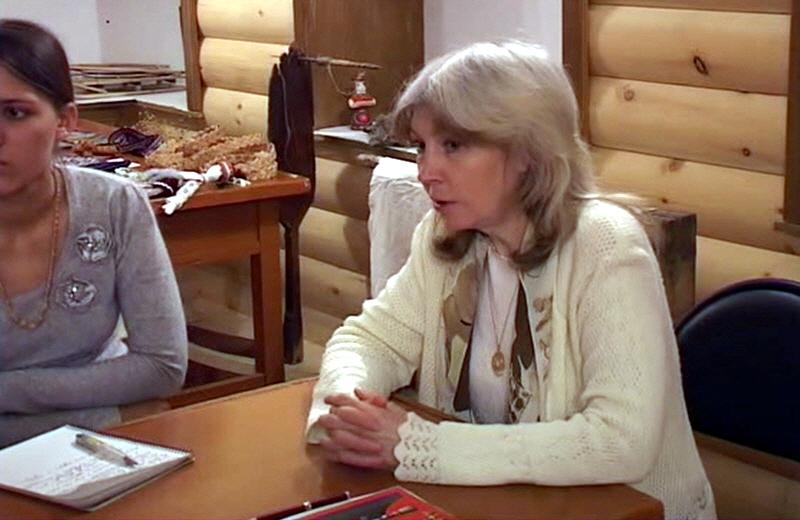 Семинар Натальи Неволиной про Воспитание детей в славянской традиции в Жуковской Палате Ремёсел в 2009 году
