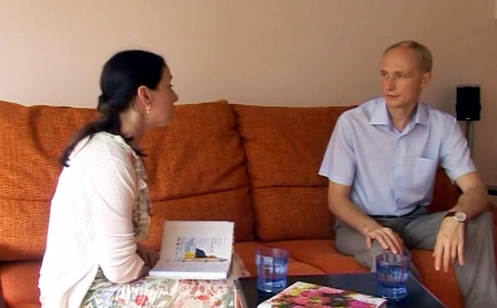 Интервью Олега Гадецкого для Артёмовского ТВ в июле 2014 года