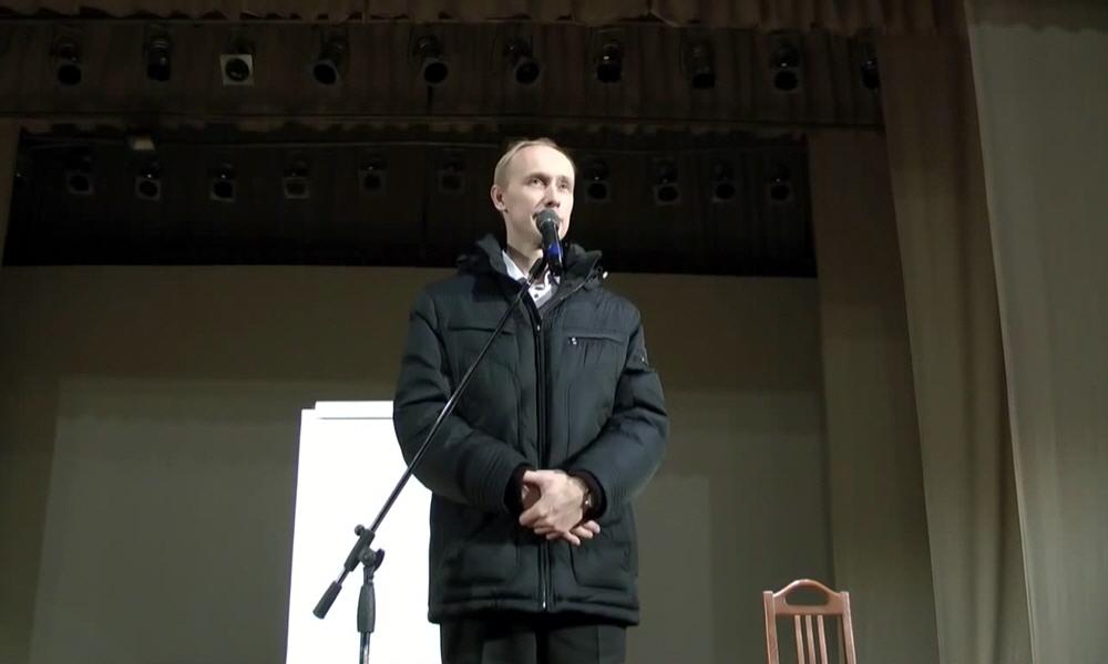 Тренинг Олега Гадецкого в Барнауле в декабре 2013 года