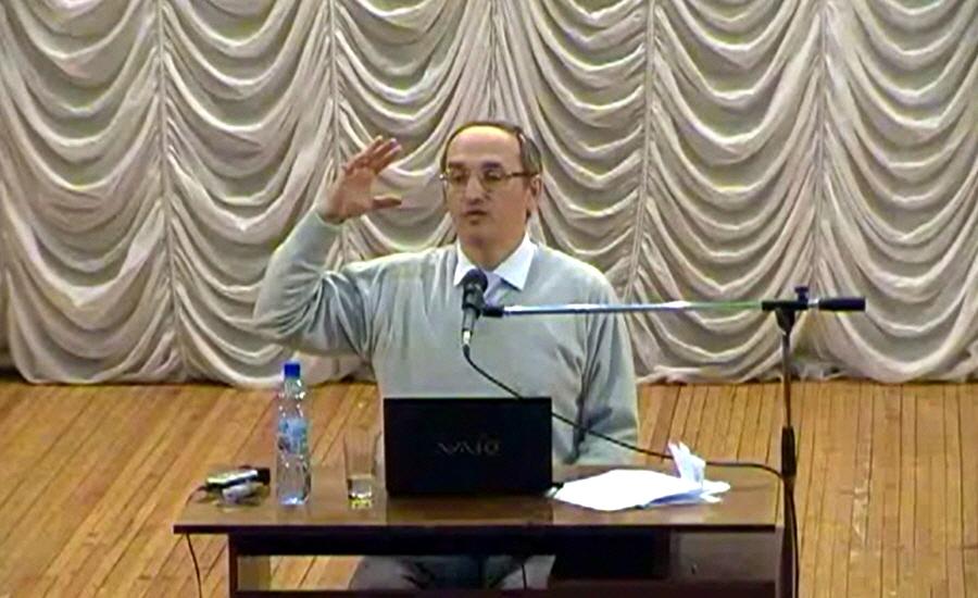 Лекция Олега Торсунова в Омске 2 февраля 2011 года
