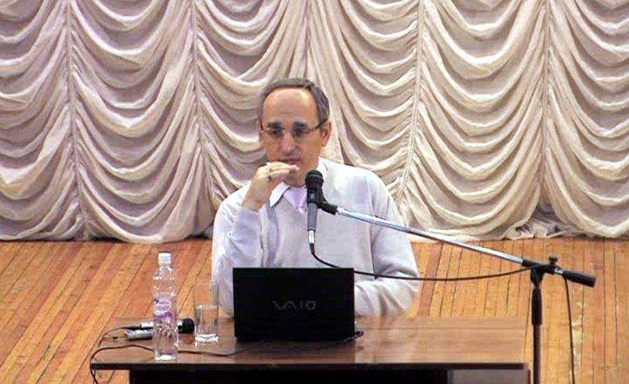 Лекция Олега Торсунова в Омске 31 января 2011 года