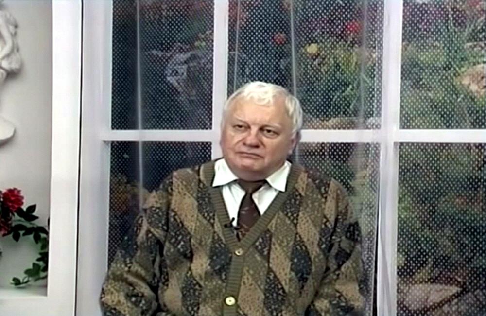 Владимир Ефремов - ведущий конструктор Научно-исследовательского Института