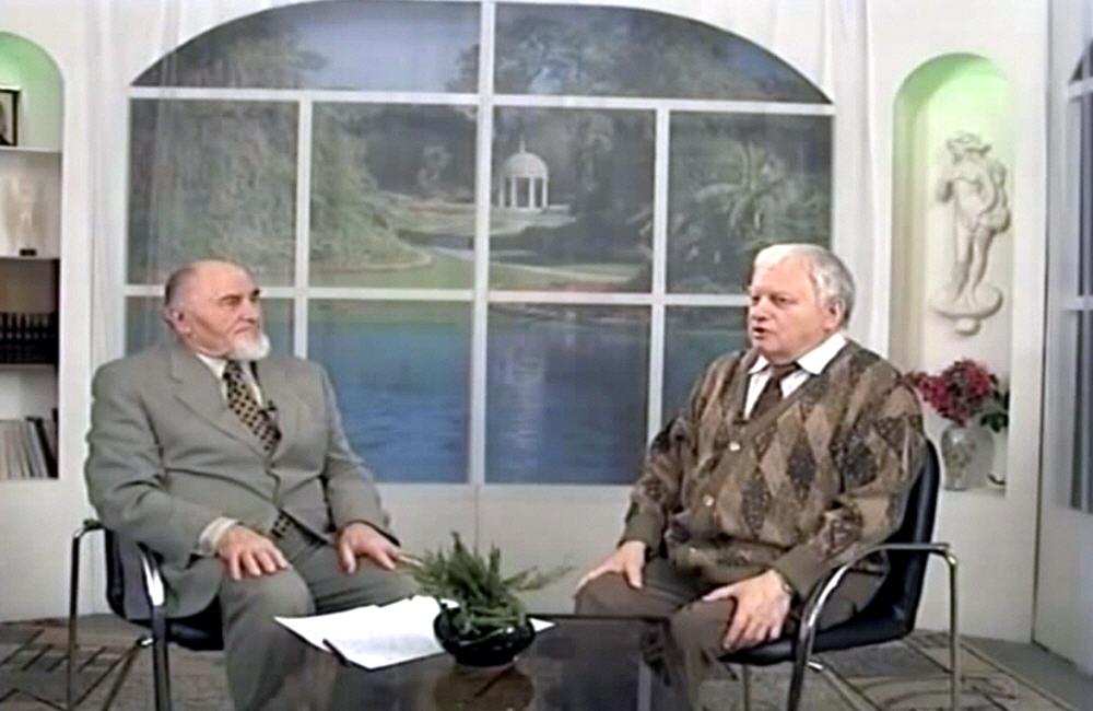 Владимир Ефремов в программе Осознание знания в 2000 году