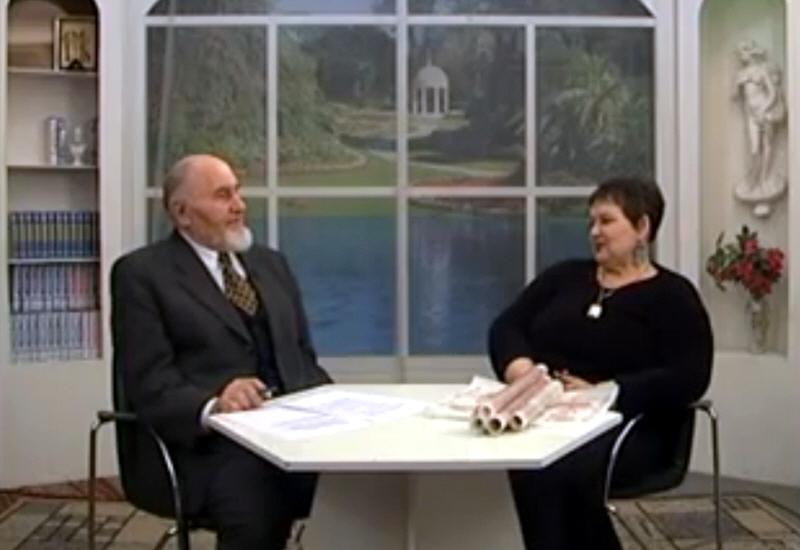 Светлана Жарникова в программе Осознание Знания в 2002 году