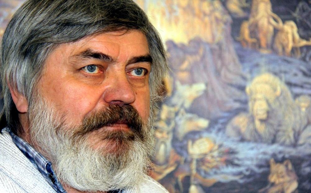 Писатель Сергей Алексеев