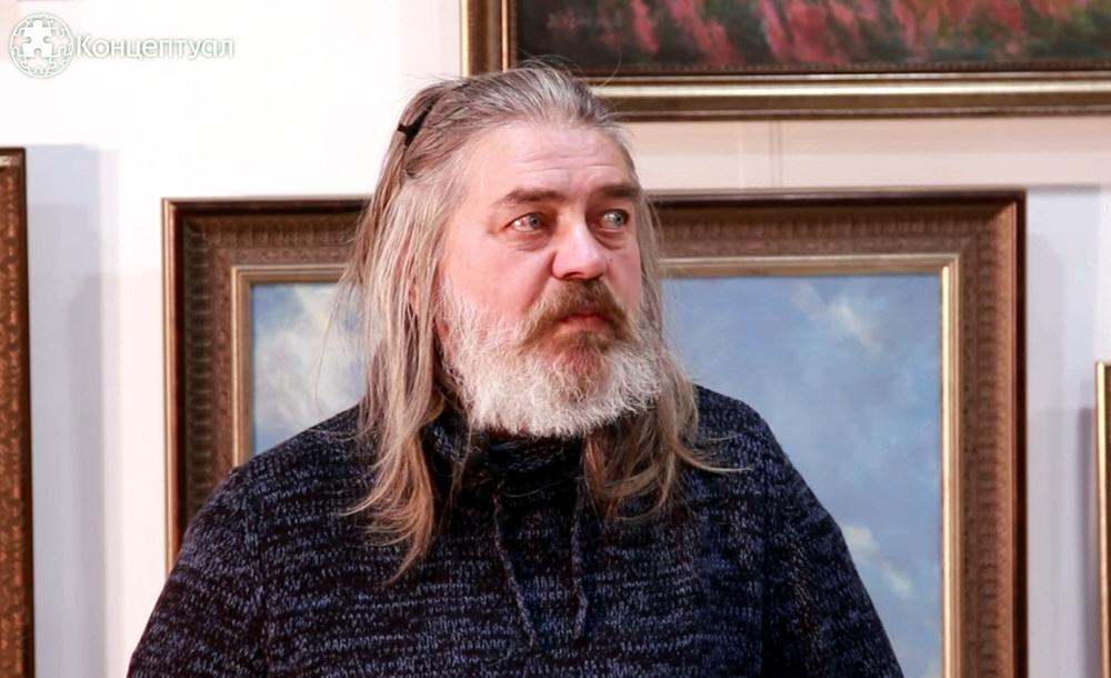 Сергей Алексеев в Музее Славянской Культуры в Москве 23 марта 2016 года