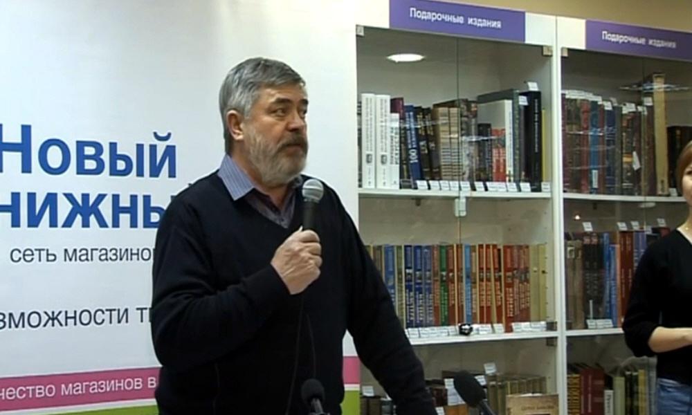 Сергей Алексеев в московском магазине сети Новый книжный 16 марта 2013 года