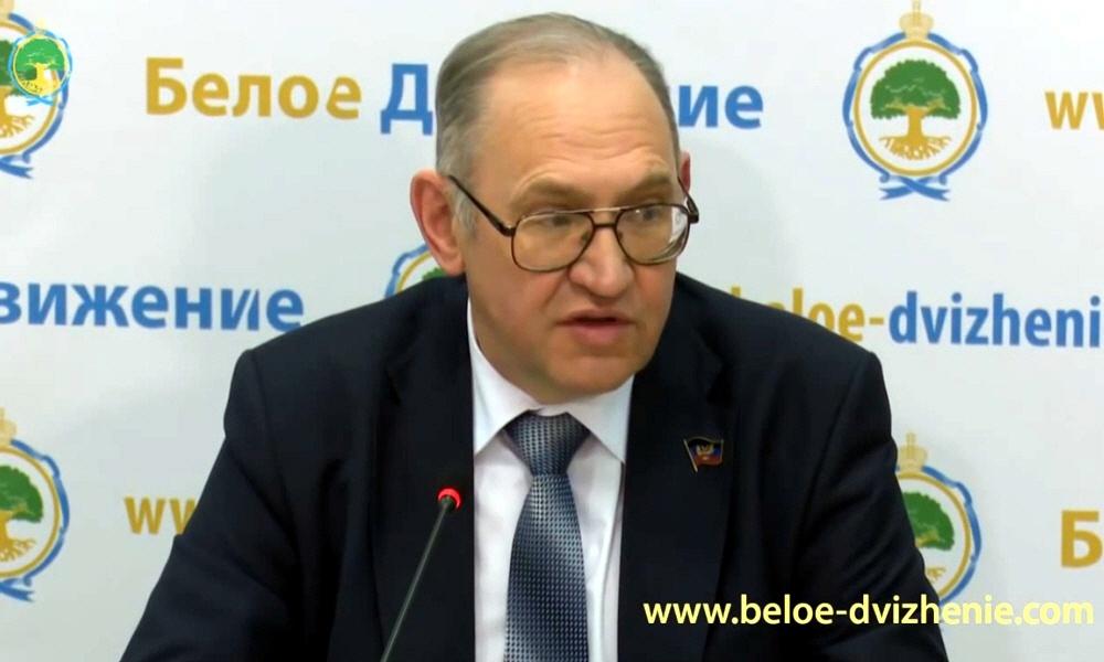 Борис Алексеевич Литвинов - председатель Верховного Совета Донецкой Народной Республики