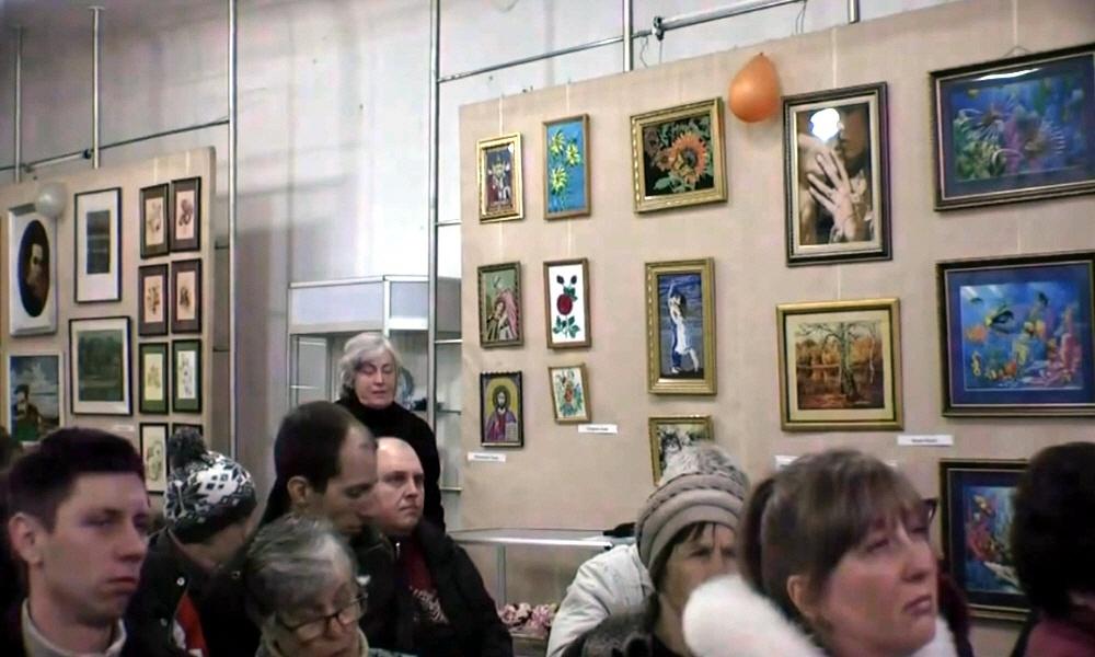 Лекция Сергея Данилова в историко-краеведческом музее Павлограда
