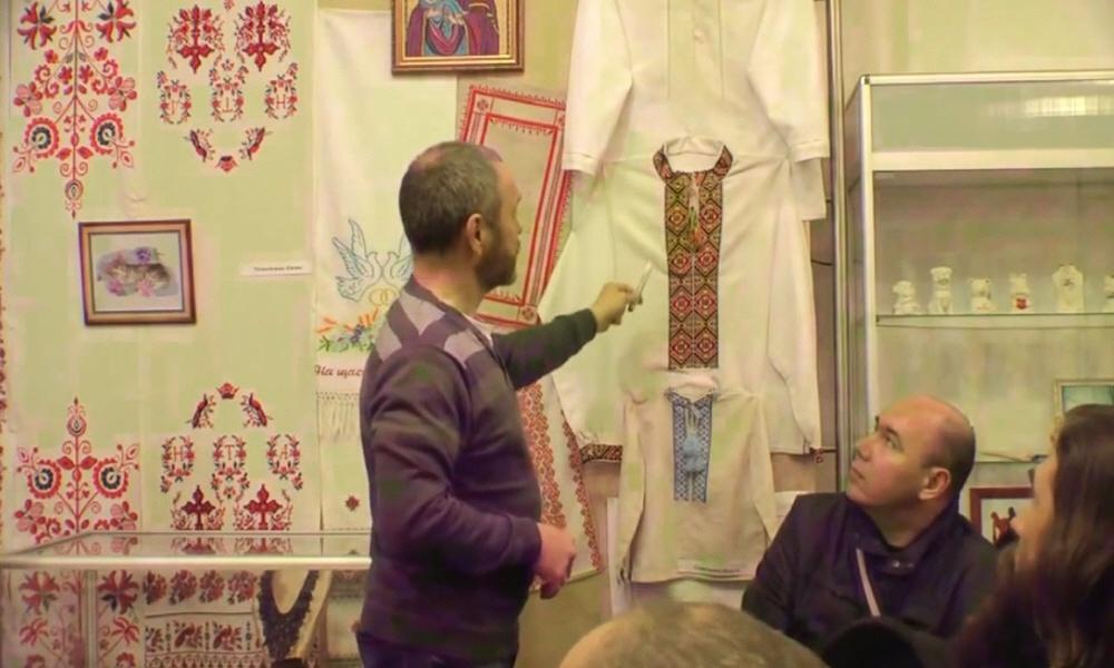 Образы и символы на славянской одежде