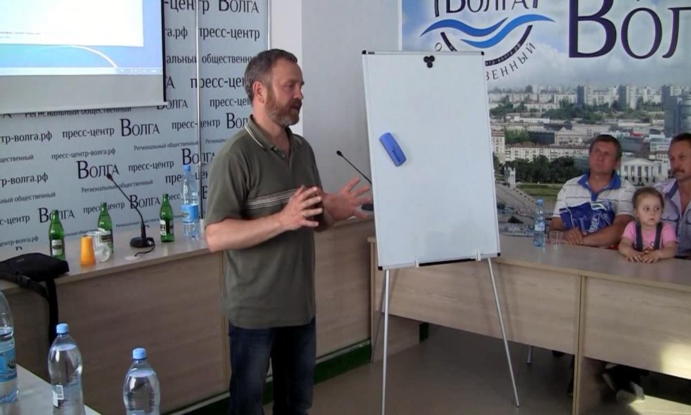Сергей Данилов в Волгограде 21 мая 2014 года