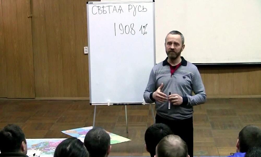 Сергей Данилов в Волгограде 22 марта 2014 года