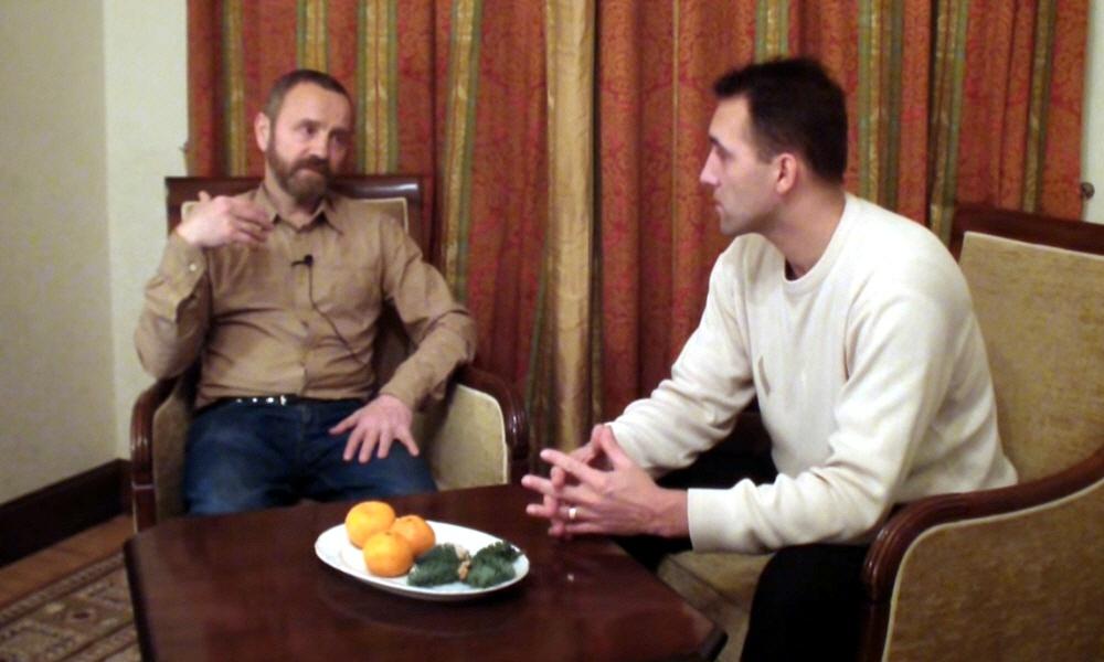 Сергей Данилов в Москве 23 декабря 2013 года