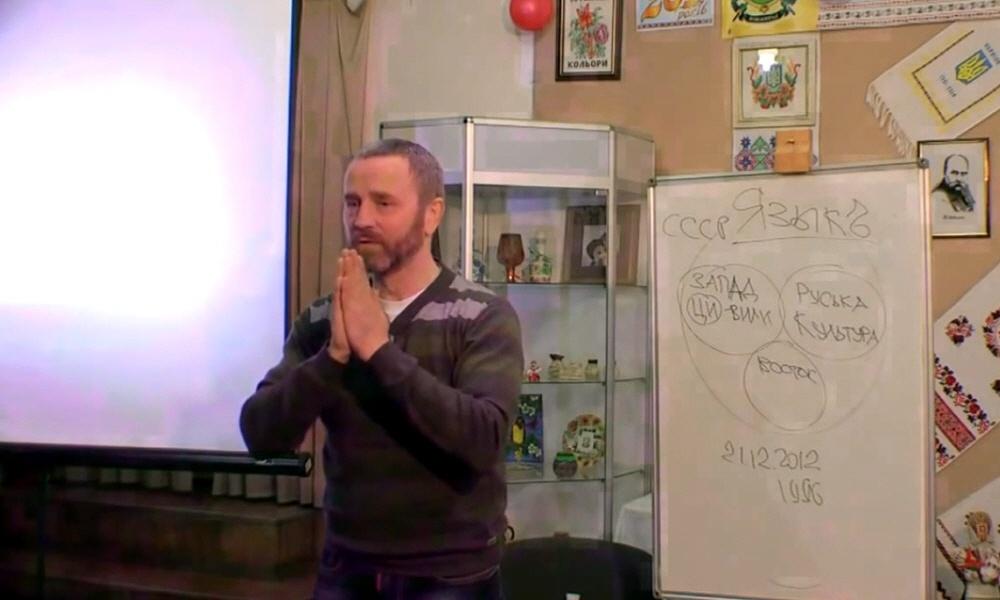Сергей Данилов в Павлограде 5 апреля 2014 года