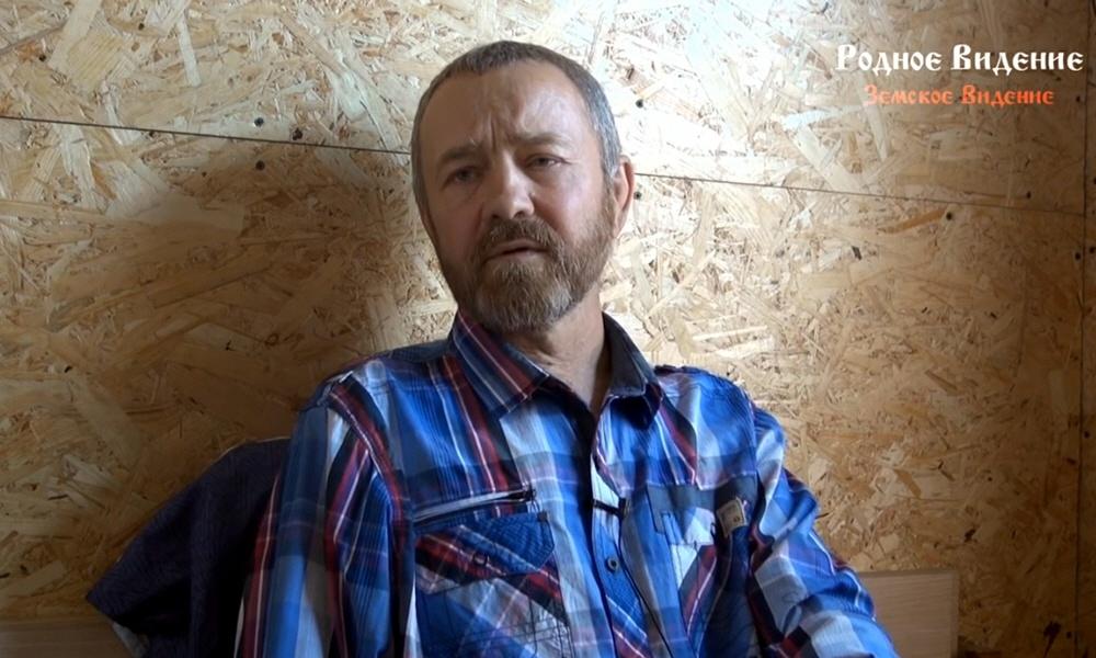 Сергей Данилов в станице Тишанская Волгоградской области 3 августа 2016 года