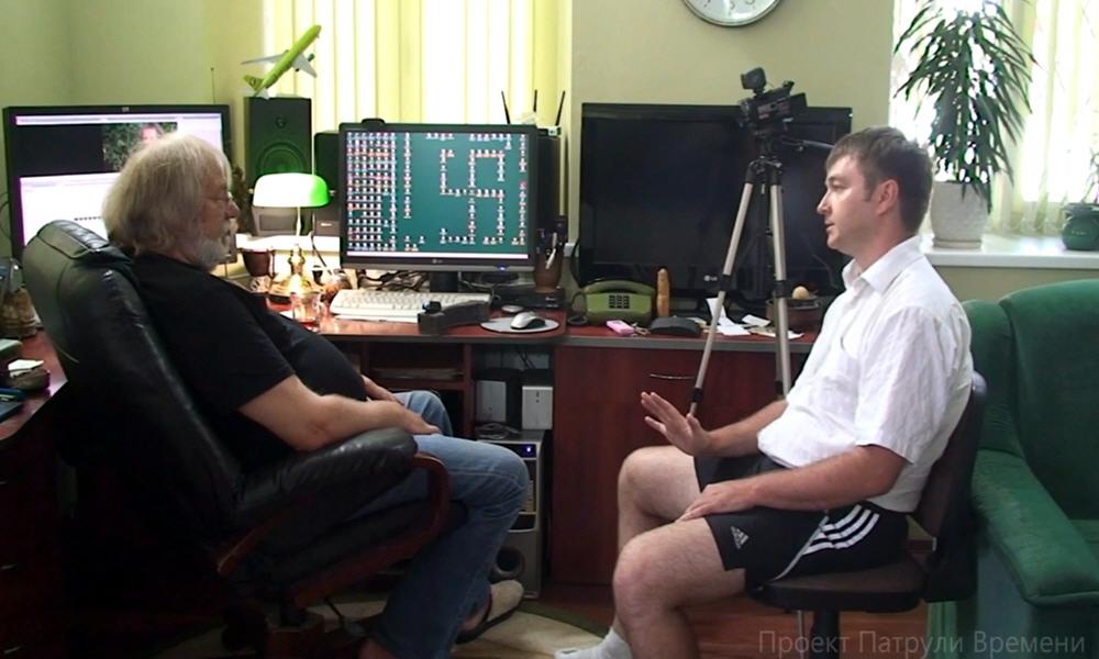 В гостях у Сергея Стрижака в Севастополе 26 июня 2013 года
