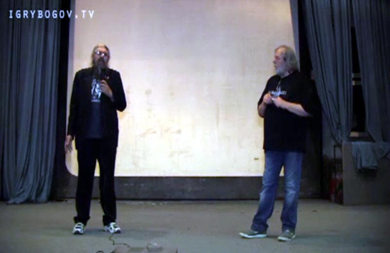 Сергей Стрижак и Александр Хиневич в Новосибирске 4 июля 2011 года