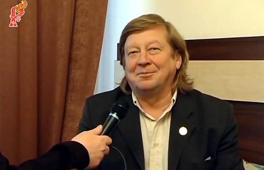 Виктор Медиков в дискуссионном клубе Щит Сварога