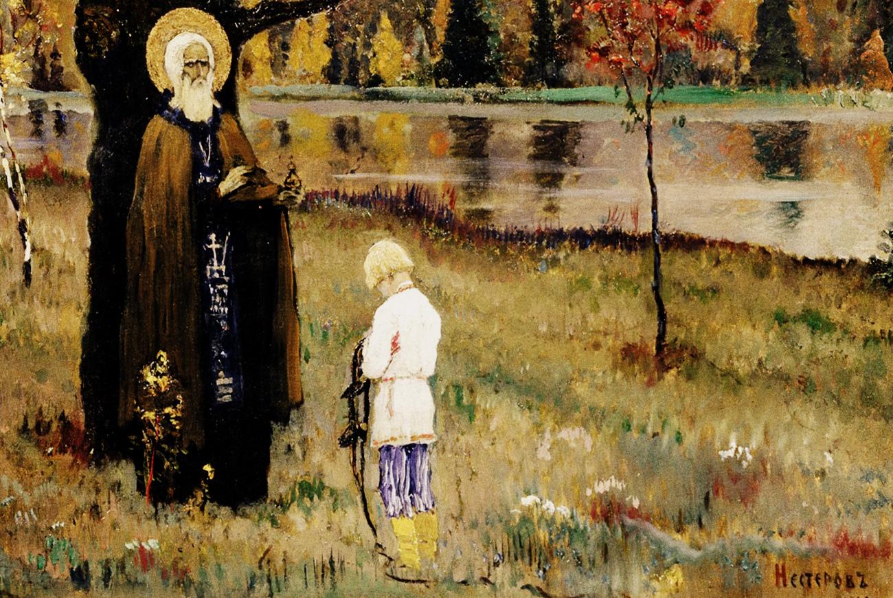 Кто и как подготавливал Сергия Радонежского для внедрения в христианскую религию