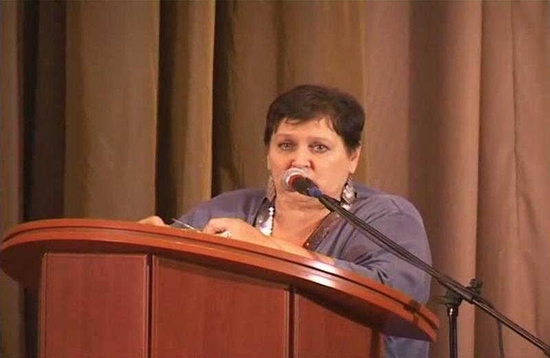 Доклад Светланы Жарниковой в Петербурге 22 ноября 2009 года