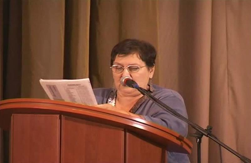 Жарникова на Конгрессе Ведической культуры ариев-индославов