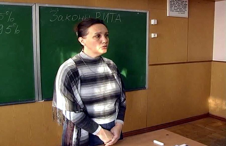 Лекция Татьяны Морозовой в Чернигове в 2010 году