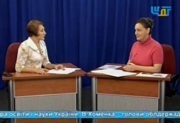 Татьяна Морозова в программе Диалог на украинском ТВ в 2010 году