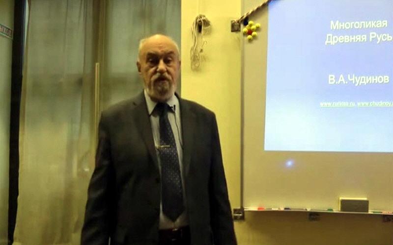 Валерий Чудинов в московском центре Благодарение 4 ноября 2013 года