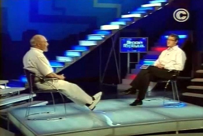 Валерий Чудинов в передаче Герой Города на телеканале Столица в 2009 году
